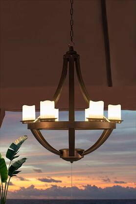 Gazebo Chandelier Vintage Industrial Lighting